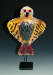 Glass Metal Bird